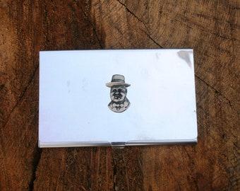 Churchill Business Credit Card Holder Churchill Gift FREE ENGRAVING