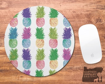 pineapple mousepad / mouse pad / pineapple mouse pad / mousepad / pineapple / office decor / custom mouse pad / mouse mat / monogrammed