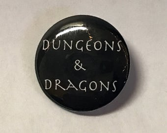 Dungeons & Dragons Button