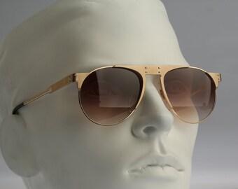 Silhouette M 8525, Vintage aviator sunglasses, 90s unique and rare / NOS
