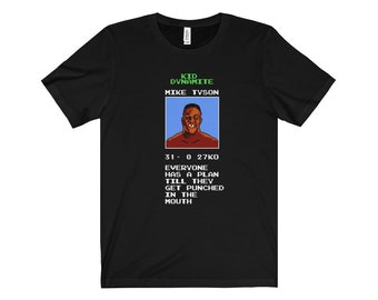 Men's Mike Tyson's Punch-Out/Inspirational Quote T-Shirt - Wise Words from Mike Tyson
