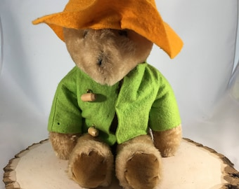 Vintage Eden Toys Paddington Bear Plush,Stuffed Bear,Vintage Teddy Bear