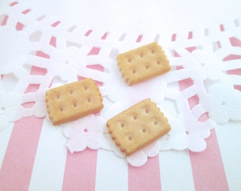 Miniature Biscuit Cookie Decoden Kawaii Cabochons, #112b