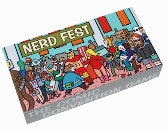 Nerd Fest the Comic Con Game