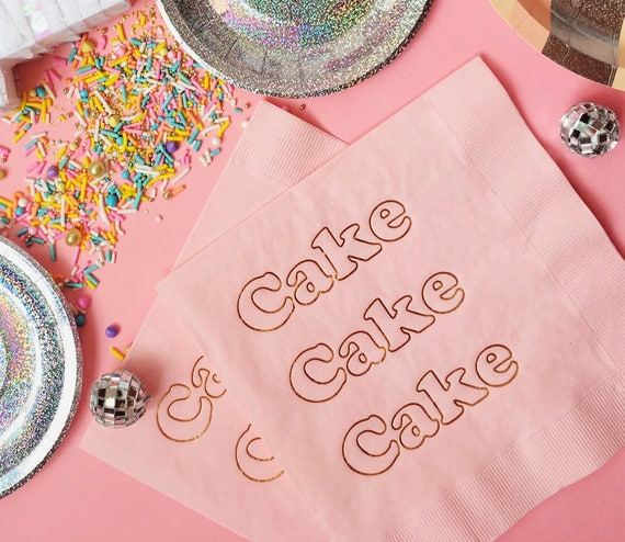 Cake Foil Napkins