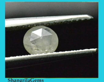 5mm white diamond rose cut 0.455ct 5 by 2mm ethical conflict free