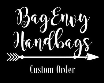 Custom Listing For (Nicky)  Large Monterey Diaper Bag Set with Vegan Leather