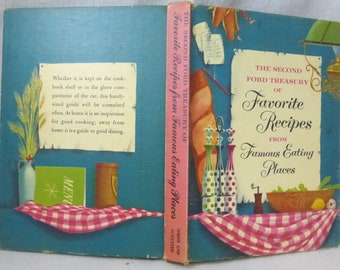 Vintage Second Ford Treasury of Favorite Recipes from Famous Eating Places