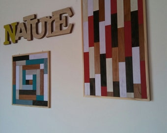 Wooden wall Paintings