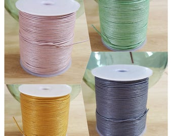 1mm leather round lace, round cord leather 1mm, genuine round leather cord 1mm, stringing material 1mm leather round cord.