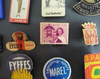 Advertising Stickpins ..  International Souvenir Stick Pin Collection