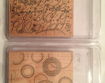 Stampin' Up! Assorted Background Stamp Sets