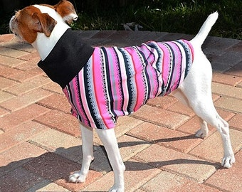 Italian Greyhound Clothing . Pink Scallop. Italian Greyhound Clothing. Dog Clothes. Dog Clothing. Dog Apparel. Coat for dogs. Pet Clothing.