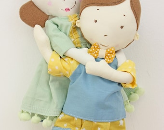 Shana&Thomas. Dolls for gift. Custom design.