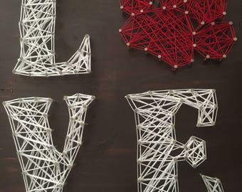Animal lover string art