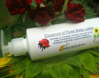 Hand Lotion, Body Lotion, Elegance of Rose 'n Glycerin
