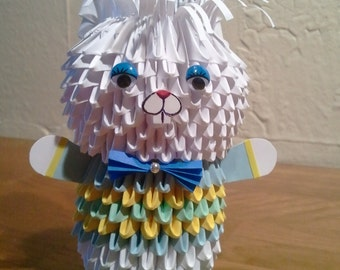 3d origami Bunny (boy)