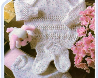 Sweater Knit Pattern, Baby Sweater, Baby Sock Pattern, DK Knit Pattern, Baby Knit Pattern, PDF Pattern, Digital Download, Instant Download,