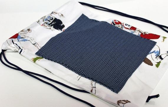 Football Child's Drawstring Backpack