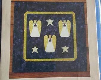 Angels Paper Piecing Quilt Pattern - Quiltsy Destash Party SALE