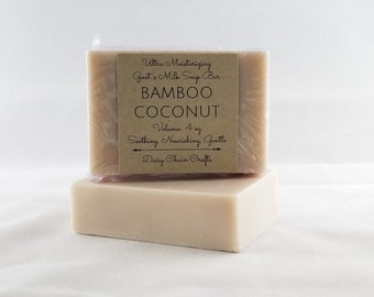 Handmade Goat's Milk Bar Soap: Summer Collection