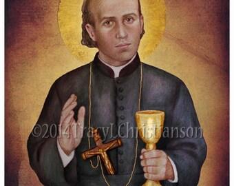 Saint Gaspar del Bufalo Catholic Patron saint Art Print #4316