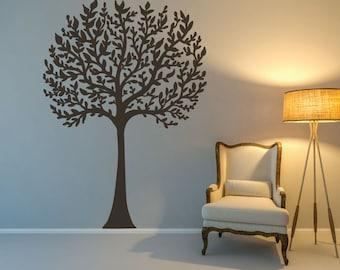 Tree Decal - Tree Wall Decal - Nursery Tree Decal - Family Tree Decal - Nursery Wall Decals - Nursery Decor - Wall Decor - Wall Decals