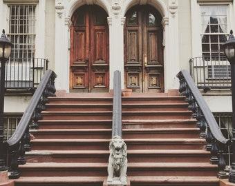 Chelsea doorway - original photography