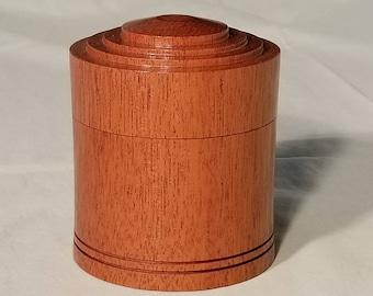Mahogany Box with Lid