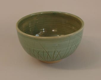 Large salad/noodle bowl Stoneware Pottery