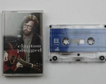 Eric Clapton Unplugged cassette Tape