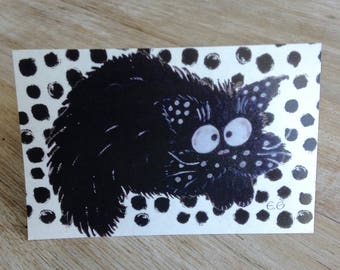 Card all occasions with hilarious cat fouin