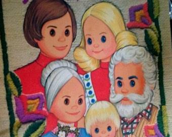 Sale-1977 Mattel Sunshine Family Paper Dolls -Whitman