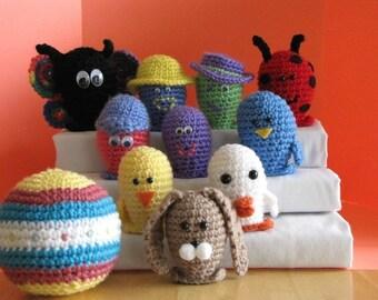 Easter - Spring Bowling Set Crochet Pattern