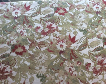 Floral Upholstery Fabric - per yard