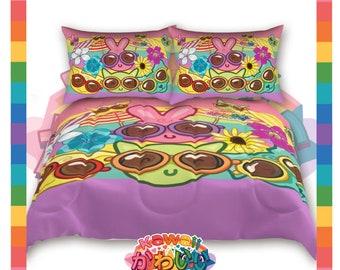 Univers kawaii - Cute vacances copains couvre-lit créateur