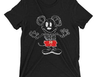 X-ray Mousey Adult Tees - FREE SHIPPING - Mickey Adult - Mickey Mouse Tshirt - Disney Women - Mickey Mouse Shirt - Disney Men