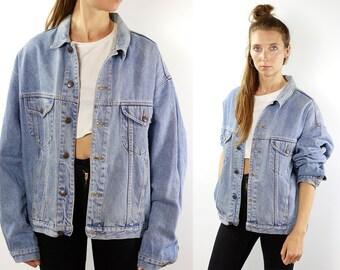 Vintage Denim Jacket Vintage Jean Jacket 80s Denim Jacket 80s Jean Jacket Benetton Jacket Blue Denim Jacket Blue Jean Jacket