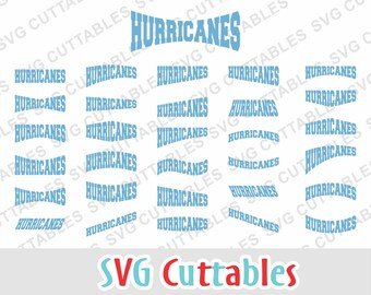 Hurricanes svg, hurricanes layouts svg, eps, dxf, hurricanes mascot, svg cuttables, Silhouette file, Cricut cut file, digital download