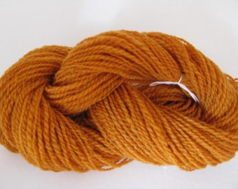 Handspun 2ply Golden Autumn