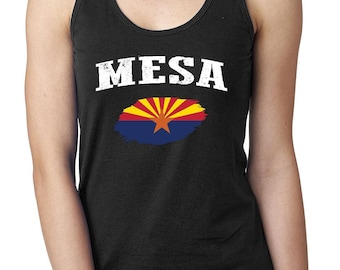 Mesa Arizona Women Tops Next Level Racerback Tank Top