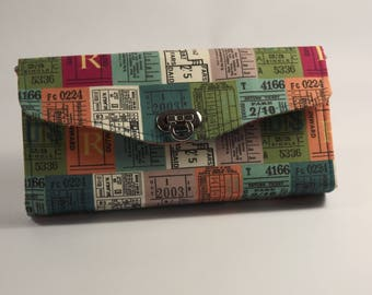 NCW, Necessary Clutch Wallet, Tickets themed
