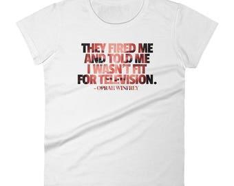 Oprah Winfrey Women's short sleeve t-shirt