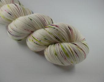 LOVE SOCK, Pschitt des bois , merino nylon sock yarn,100g