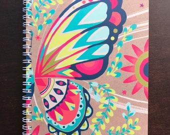 Free Spirit Butterfly Notebook