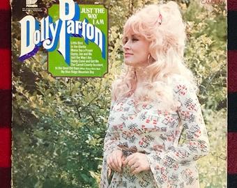 Dolly Parton - Just the Way I Am (Vintage Vinyl Record)