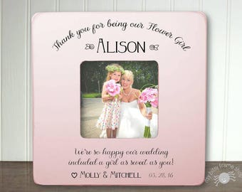 Asking Flower Girl, Flower Girl Proposal,, Free Personalization Flower Girl Thank You Gift Thank You For Being Our Flower Girl IB3FSWED