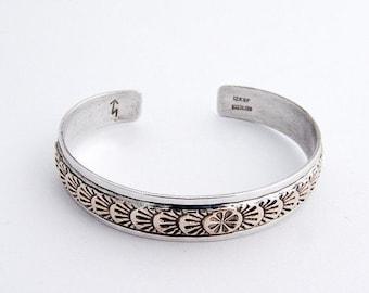 SaLe! sALe! Cuff Bracelet Gold Filled Sterling Silver