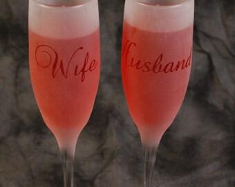 Husband wife flutes etsy