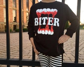 vampire BITER long sleeve shirt children's